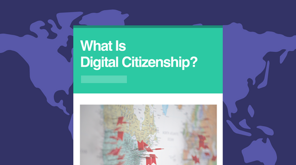 Teaching Digital Citizenship with Smore