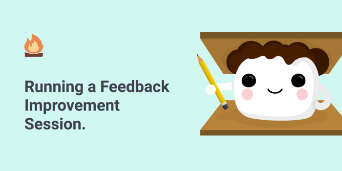 Running a Feedback Improvement Session