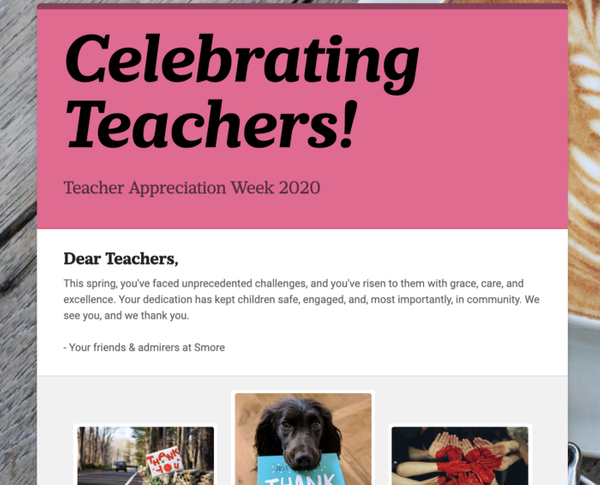 Teacher Appreciation Week [2020]