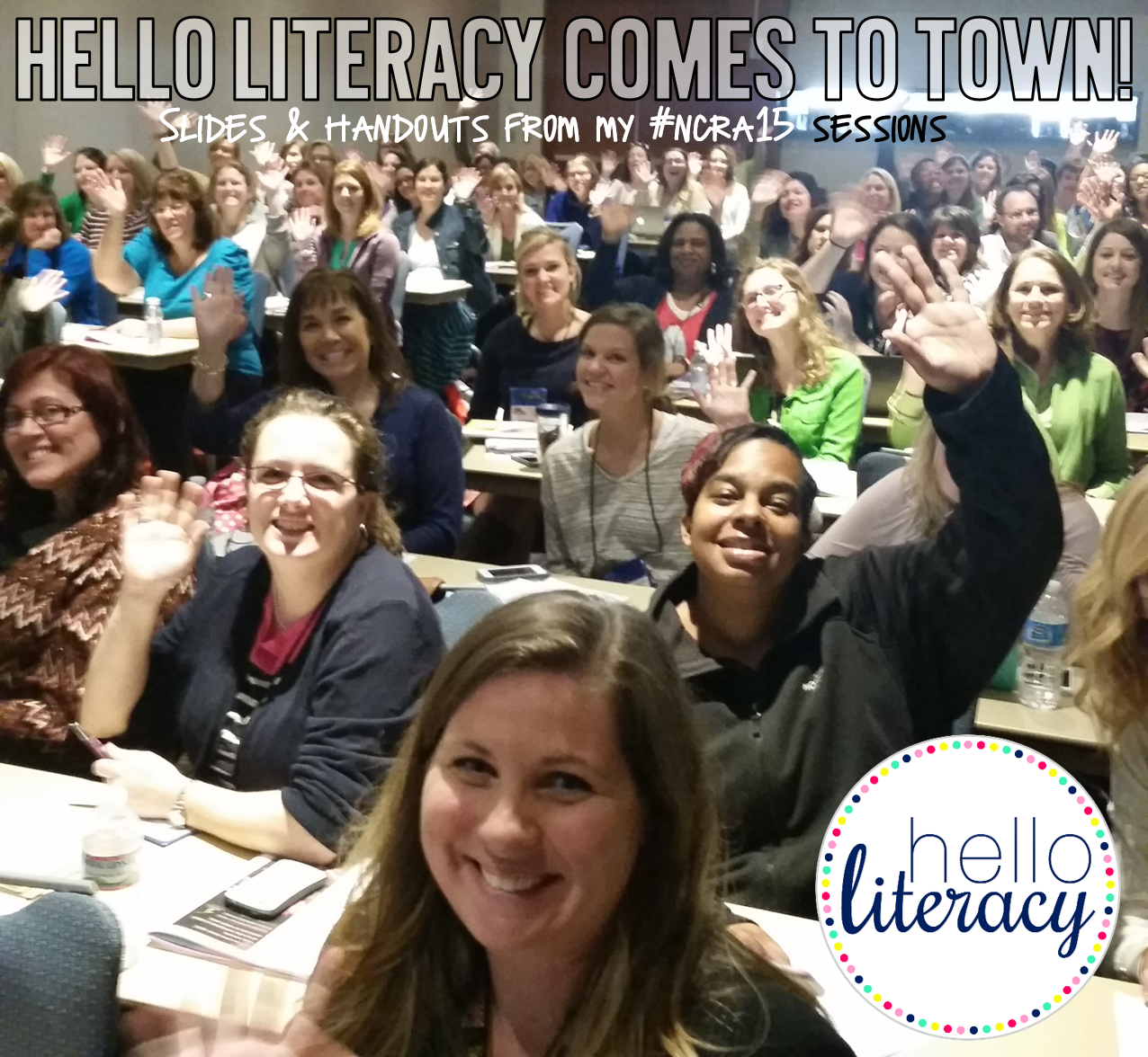 Hello Literacy: Slides & Handouts from my Reading Workshop Sessions at the North Carolina Reading Conference #ncra15