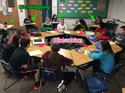 Techno-Logical Teaching:  TodaysMeet Meets the Socratic Seminar - Microblogging in a Digital Classroom