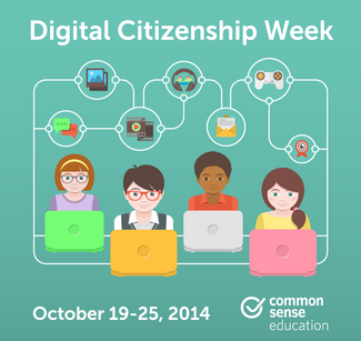 The Library Voice: Celebrating Digital Citizenship Week With My Friends At Flocabulary!