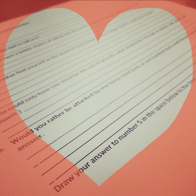 Love, Teach: My First Day of School Questionnaire