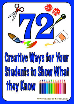 72 Creative Ways for Students to Show What They Know | Minds in Bloom