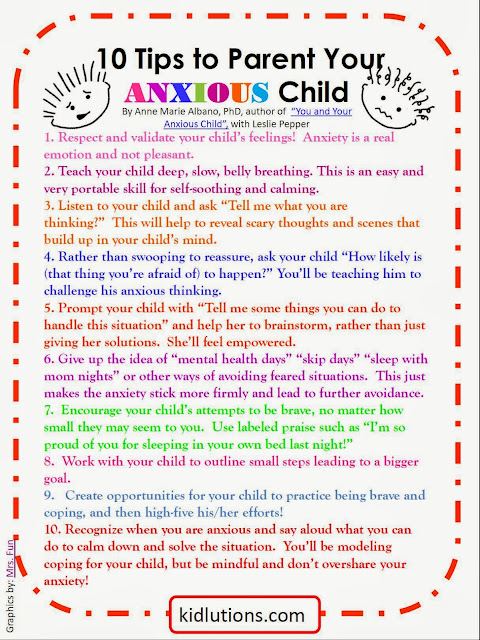 """Spin-Doctor Parenting"": 10 Tips to Parent Your Anxious Child"