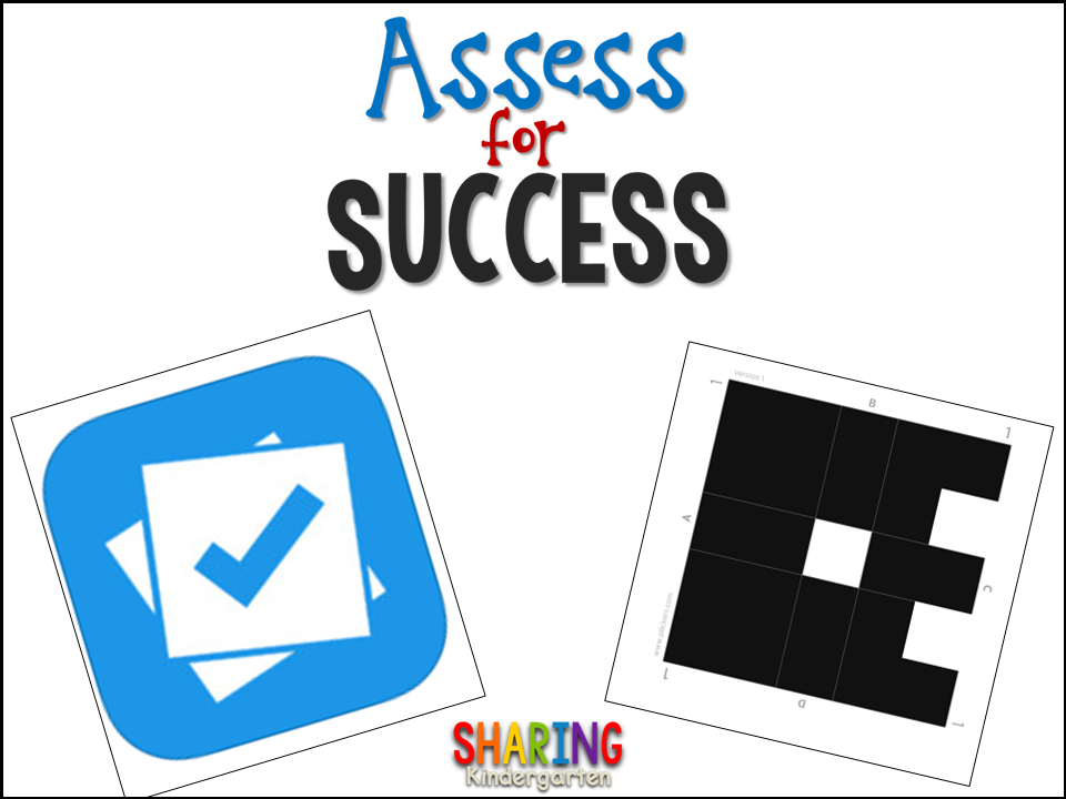 Sharing Kindergarten: Assess for Success with PLICKERS App