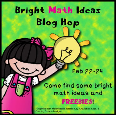 Differentiation Station Creations: Bright Ideas Math Blog Hop