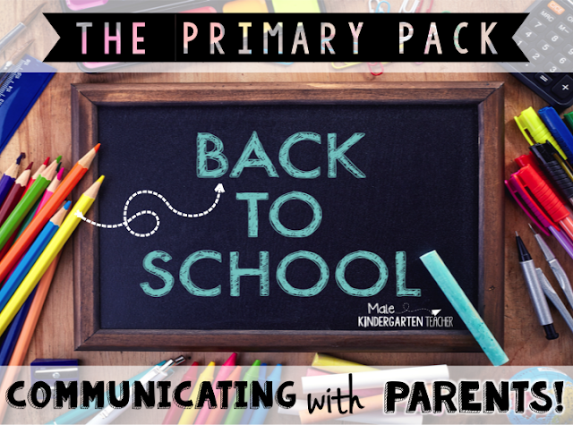 The Primary Pack: Back to School: 5 Ways to Effectively Communicate With Parents