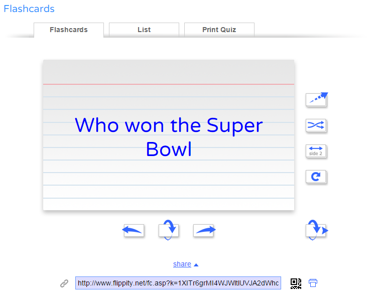 Free Technology for Teachers: How to Create Flashcards from a Google Spreadsheet