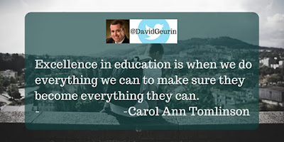 The @DavidGeurin Blog: Schools Should Never Confuse Excellence and Success