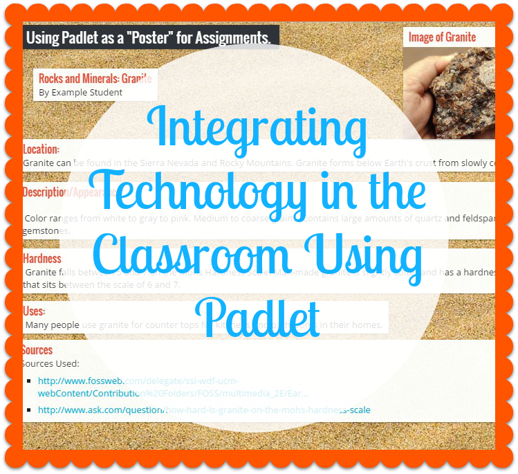 Minds in Bloom: Integrating Technology in the Classroom Using Padlet
