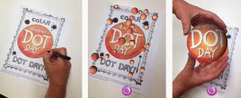 Technology is Loose in the Library!!: 3D Dots -   What better way to celebrate Dot Day