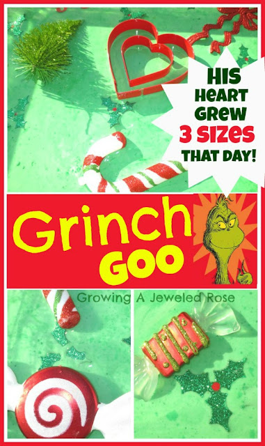 Grinch Goo Recipe for Play ~ Growing A Jeweled Rose