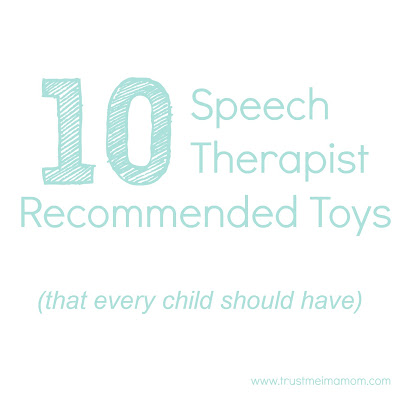 Trust Me, I'm a Mom: 10 Speech Therapist Recommended Toys