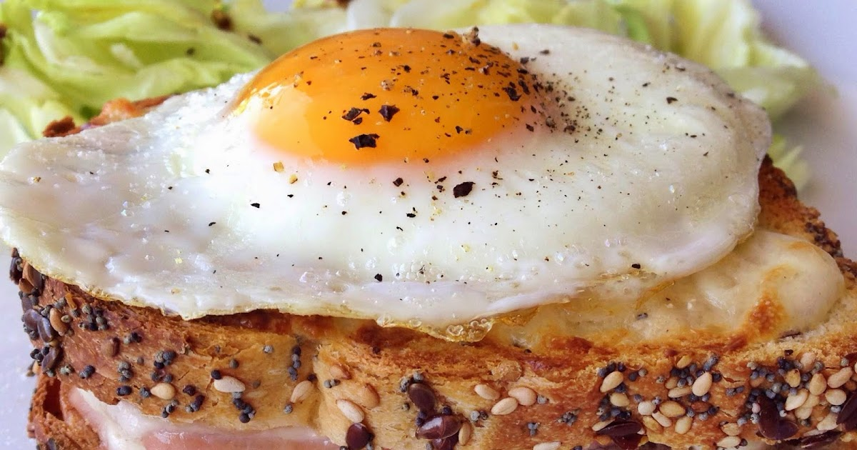 CheeseLovesPepper: Croque Madame