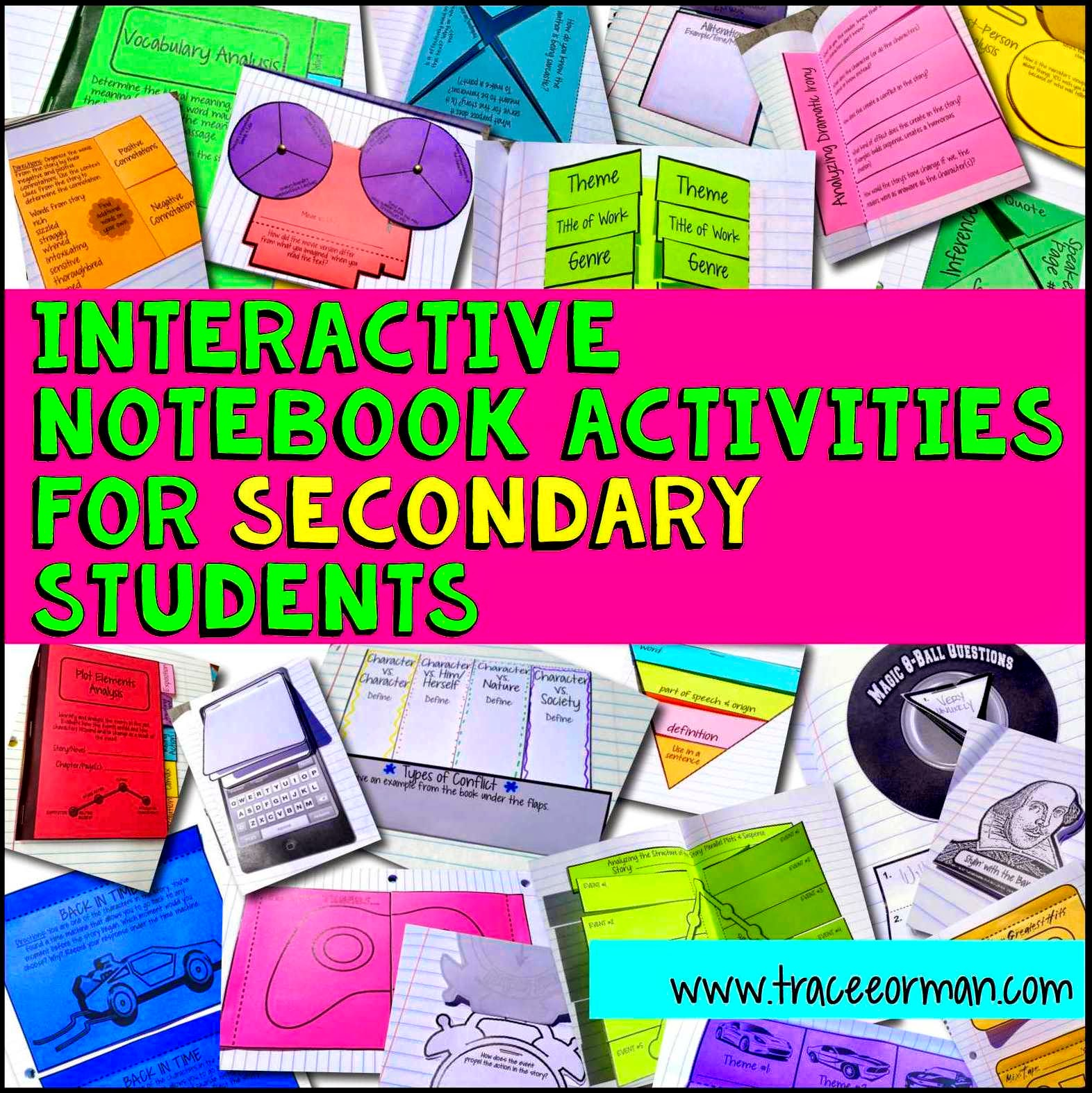 Mrs. Orman's Classroom: Interactive Notebook Examples and Templates