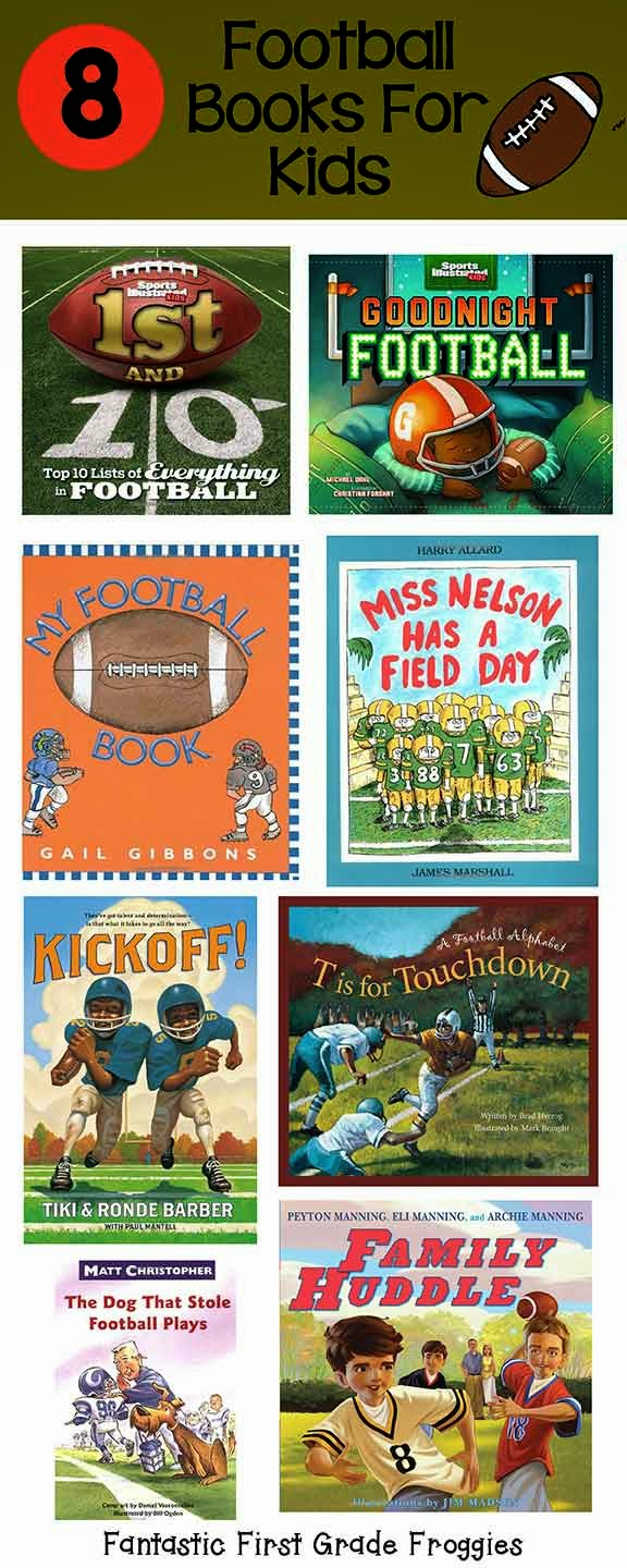 Fantastic First Grade Froggies: Touchdown!  Sport Resources and a Football Freebie