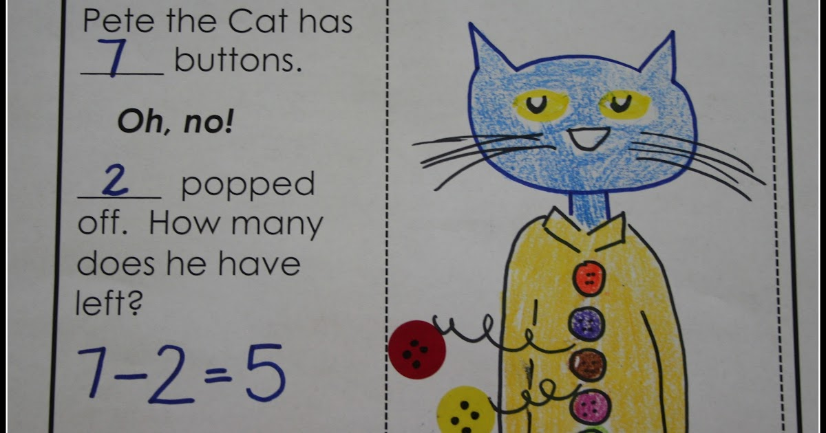 Subtract with Pete the Cat - Learning With Mrs. Parker