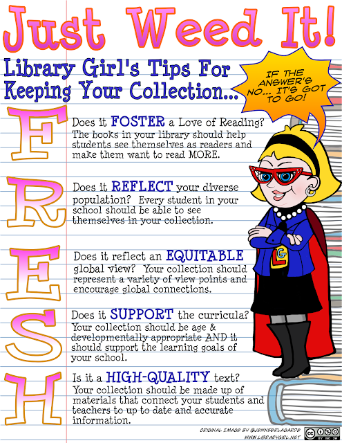 The Adventures of Library Girl: Keeping Your Library Collection Smelling F.R.E.S.H!