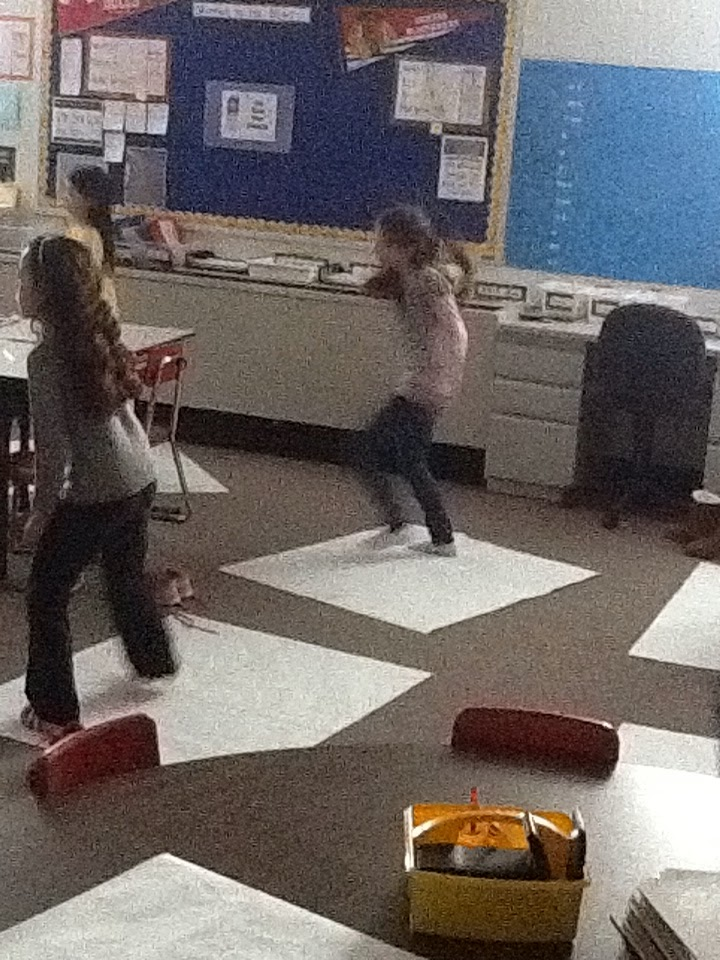 Mrs. K's Math Connection: Add a little movement:  DDR style