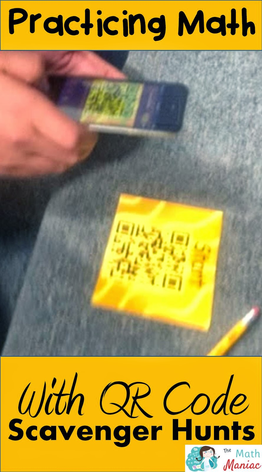 The Elementary Math Maniac: QR Code Scavenger Hunts: Using Technology to Practice Math
