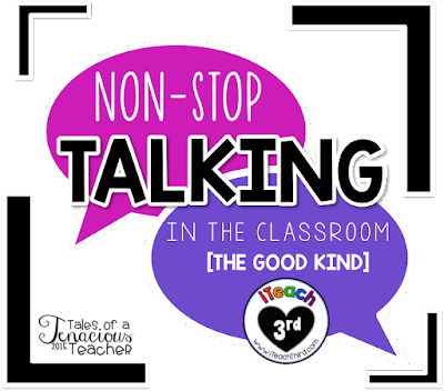 iTeach Third: Get Your Students to Talk Non-Stop (The Good Way)