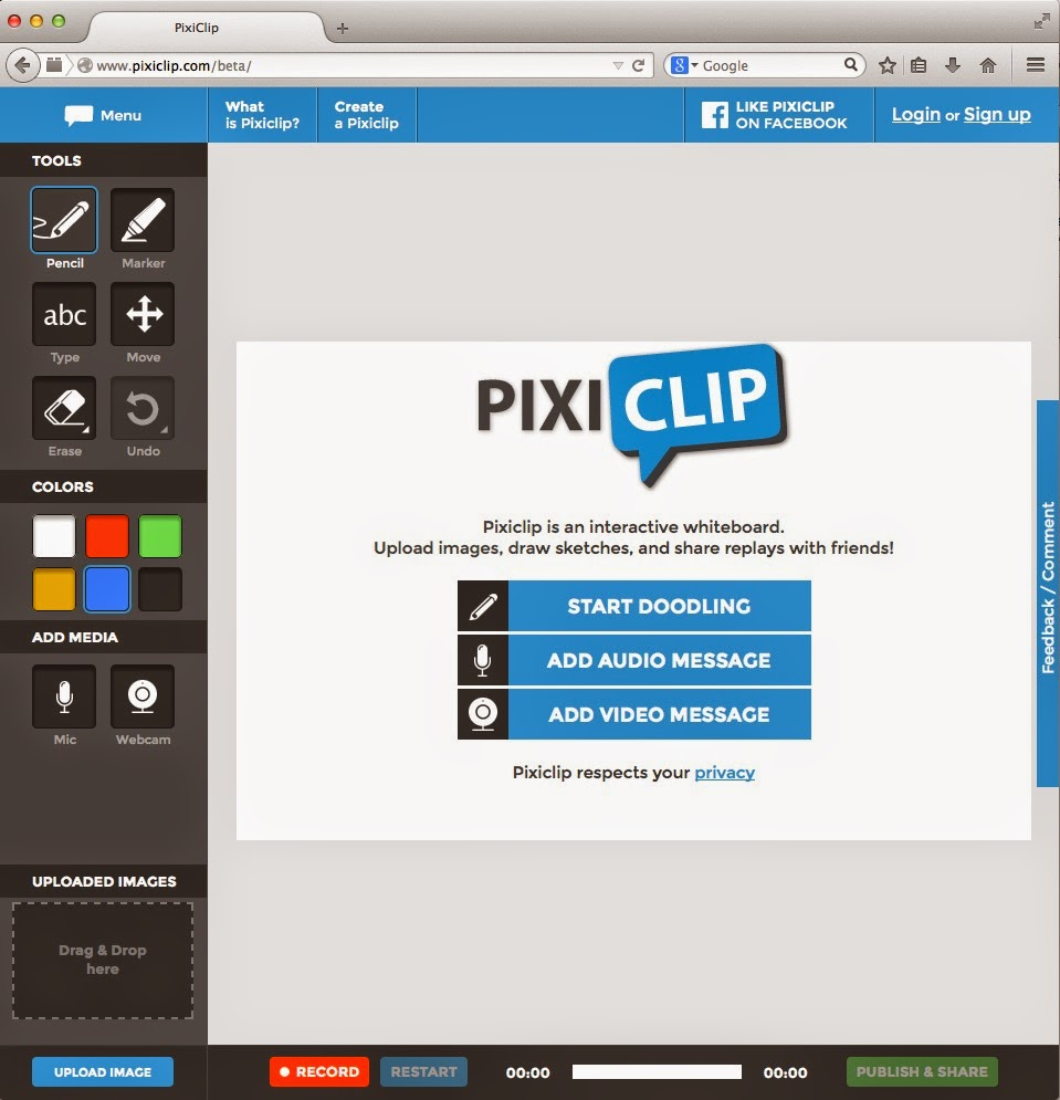 Kathy Schrock's Kaffeeklatsch: PixiClip for Teaching and Learning