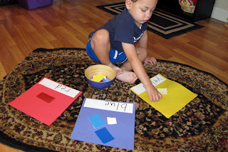 Peaceful Parenting: The Importance of Sorting Activities: Why & How : Montessori & Traditional.