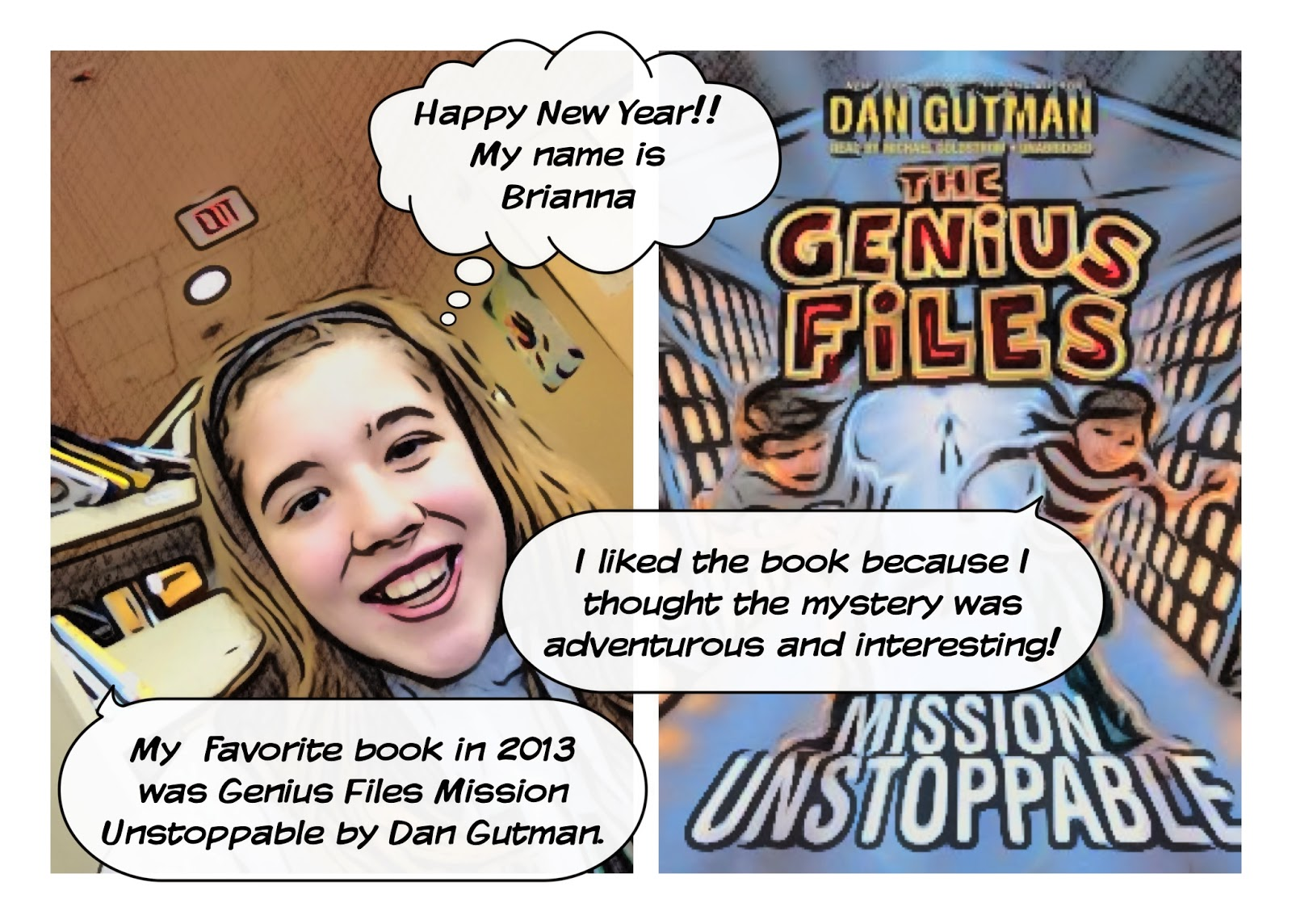 "Technology is Loose in the Library!!: Students Create ""Favorite 2013 Book Review"" Comics Using The Story Me App!"
