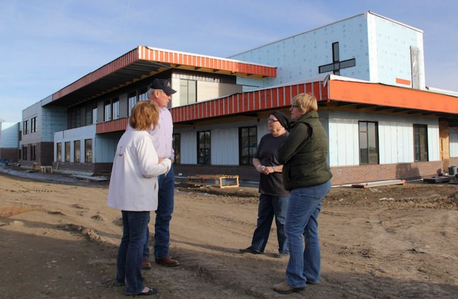 Billings in the midst of a Catholic construction boom