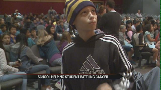 Goshen sixth graders raise thousands of dollars for their classmate