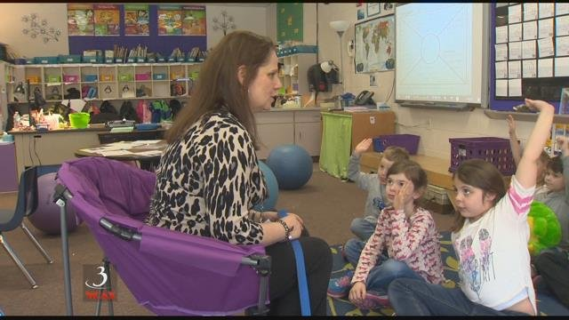 Top honors for a Vt. school counselor