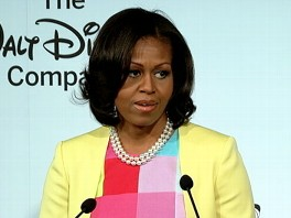 Video: Michelle Obama on Disney's Junk-Food Ad Cuts