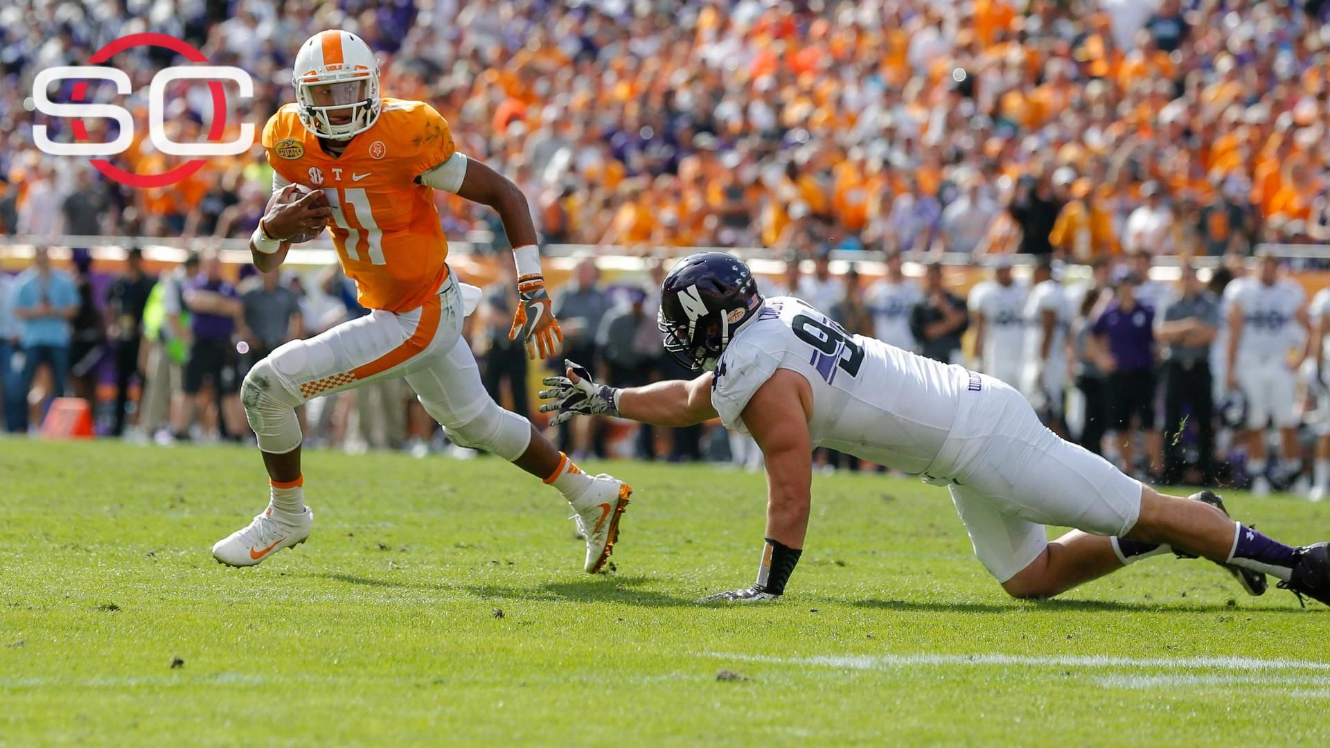 Tennessee dominates Northwestern in Outback Bowl - ESPN Video