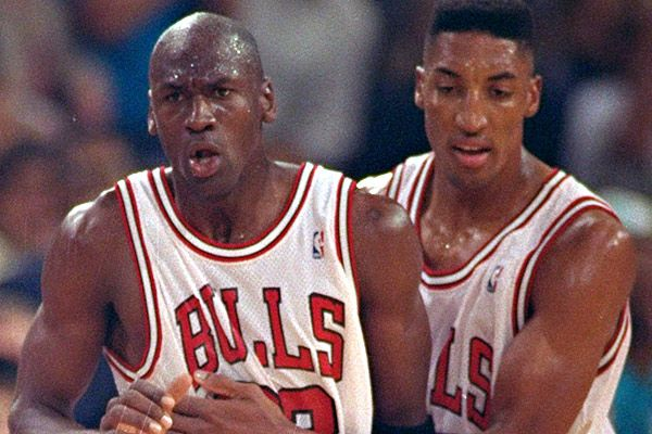 Pippen says '95-96 Bulls would sweep Warriors