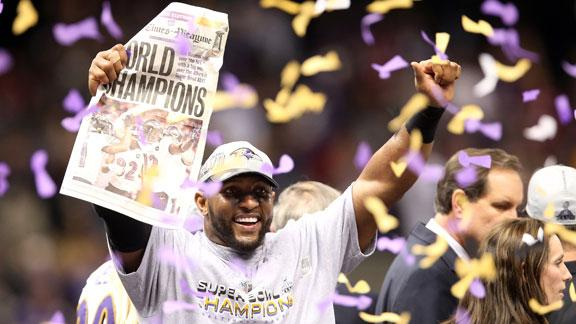 Ravens survive Niners' rally to win Super Bowl