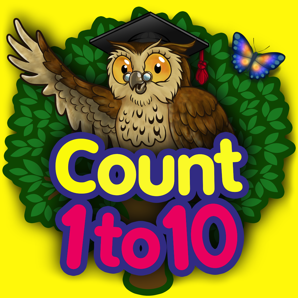 Count 1 to 10 - Mrs. Owl's Learning Tree