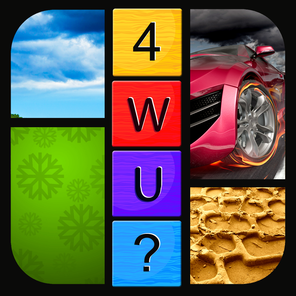 Guess The 1 Word - 4 Pics Puzzle PRO