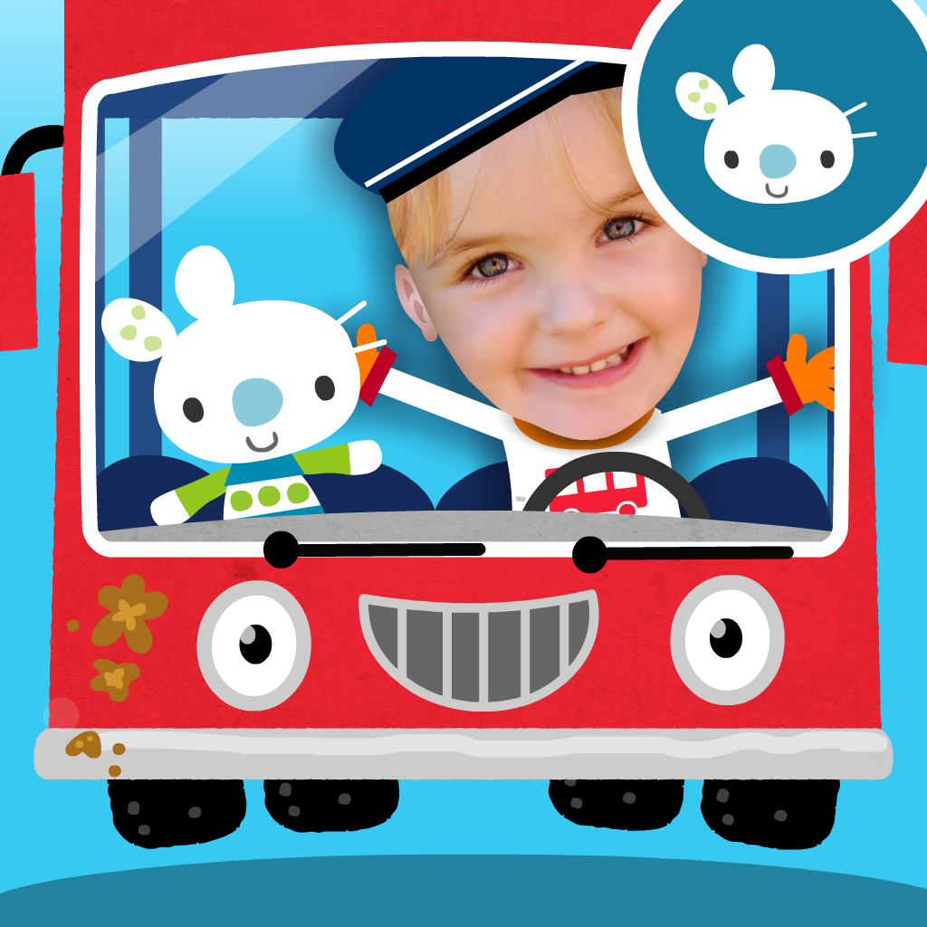 Starring Me in Wheels on the Bus: sing along, play & learn with personalized nursery rhymes starring you. For kids, parents & teachers of young children.