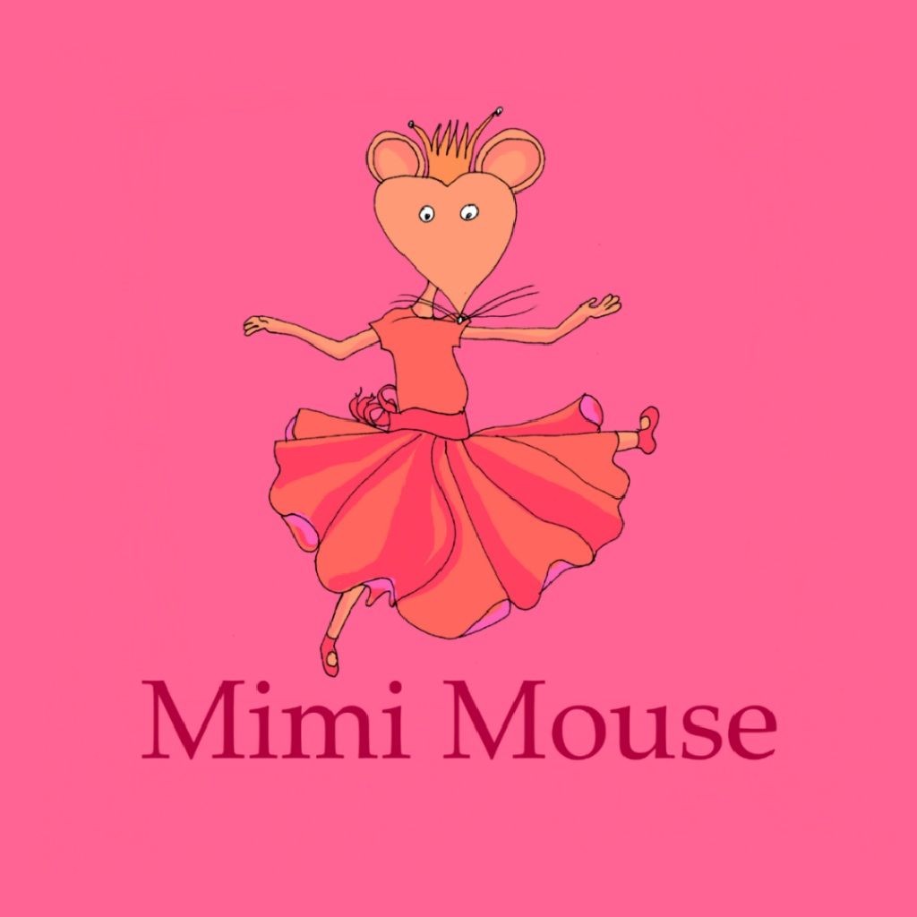 Mimi Mouse - Interactive book app for kids