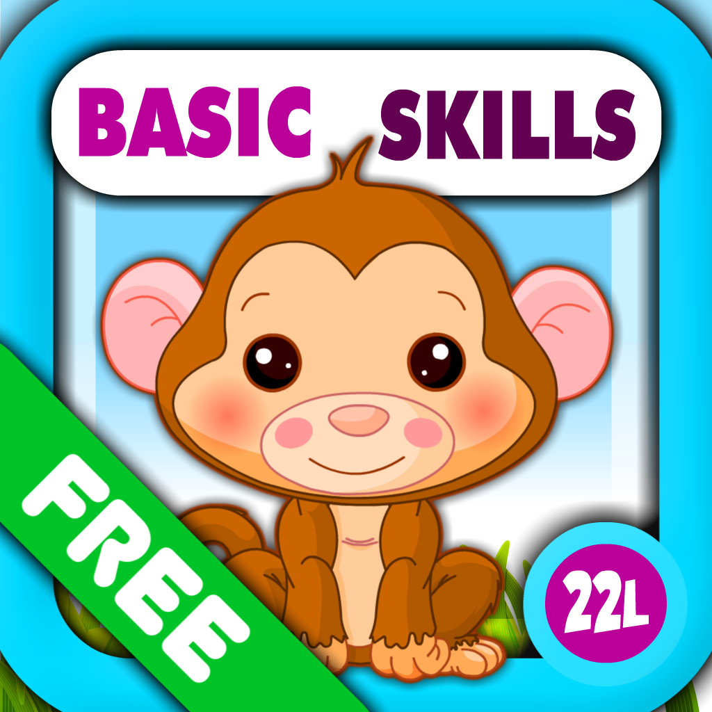 Abby Monkey®: Preschool and Kindergarten Educational Learning Adventure Games with Toys Train for Toddler Explorers