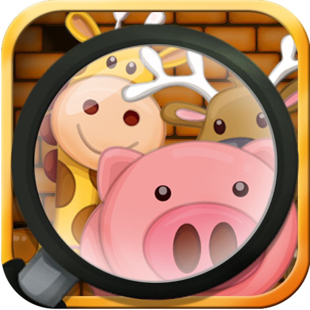 Find It HD by KLAP - Awesome game to identify animals, fruits, vehicles, vegetables, numbers and alphabets.
