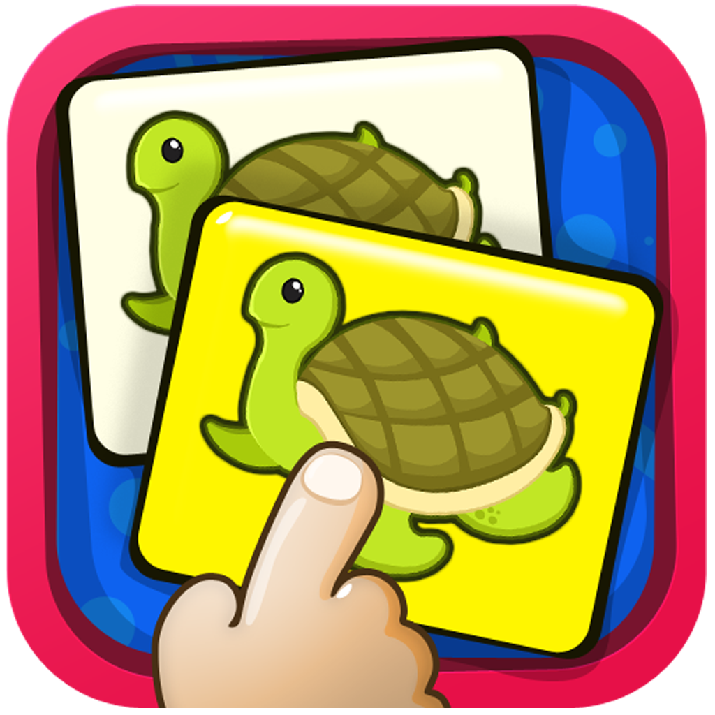 Match Them Together HD by KLAP - A great memory exercise for kids. They learn how to recollect and identify the order of pictures of animals, fruits, vegetables. toys.