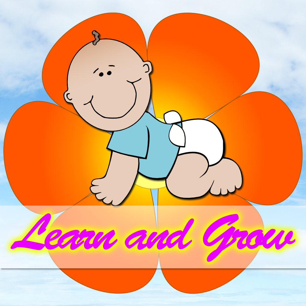Learn and Grow for Kids (Animals, Body Parts, Vehicles, Fruits and Vegetables)