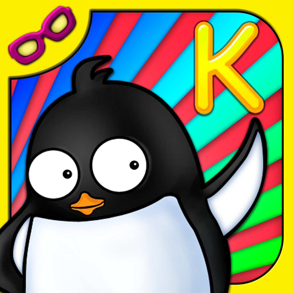 Penguin K: Kindergarten Math, Reading, Matching, Numbers, & Letters