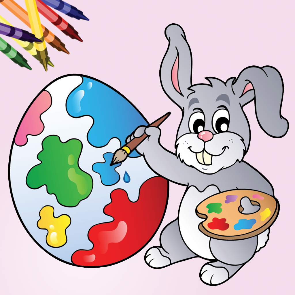 Easter Egg Coloring Book!