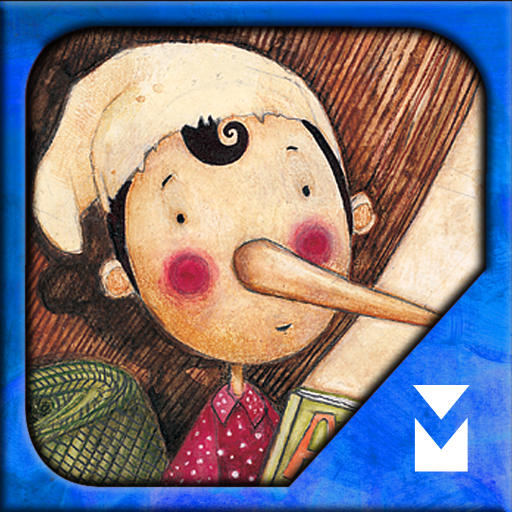 Pinocchio: Interactive Kids Storybook by Minoas Editions