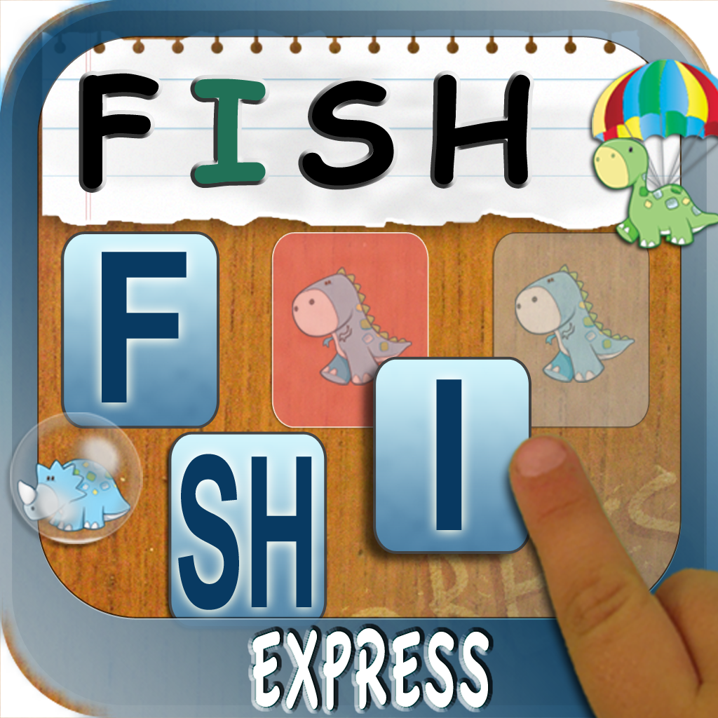 Build A Word Express - Practice spelling and learn letter sounds and names