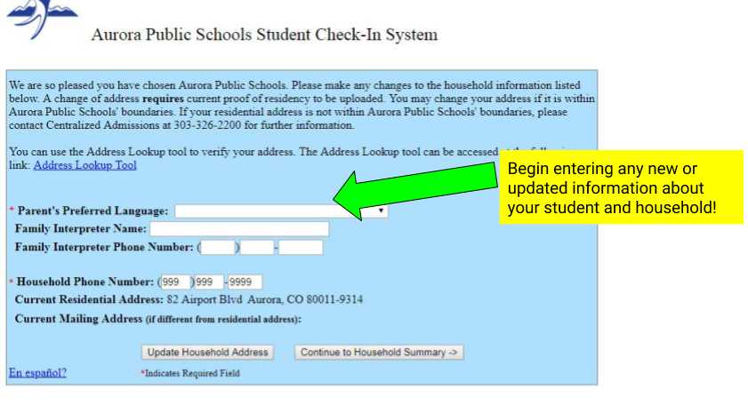 Student Check-In System