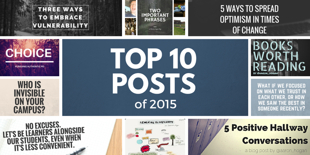 Top 10 Posts From 2015 - Leading, Learning, Questioning